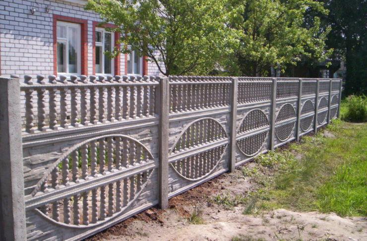 Купить забор из бетона в самаре воронеж купить машину бетона